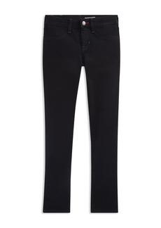 Ralph Lauren Girls' Denim Tuxedo Pants - Big Kid
