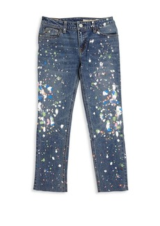 Ralph Lauren Toddler's, Little Girl's & Girl's Distressed Skinny Jeans