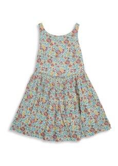 Ralph Lauren Girl's Floral Fit-&-Flare Dress