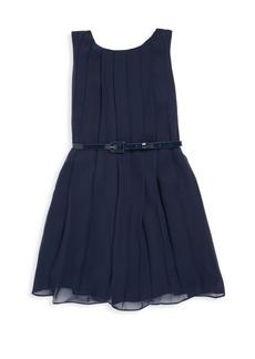 Ralph Lauren Toddler's, Little Girl's & Girl's Pleated Shift Dress with Belt