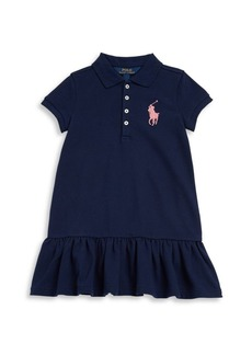 Ralph Lauren Toddler's, Little Girl's & Girl's Polo Drop-Waist Dress