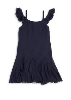 Ralph Lauren Toddler's, Little Girl's, & Girl's Ruffled Silk Dress