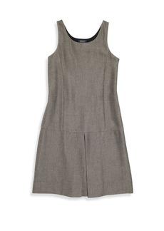 Ralph Lauren Girl's Sleeveless Scoopneck Dress