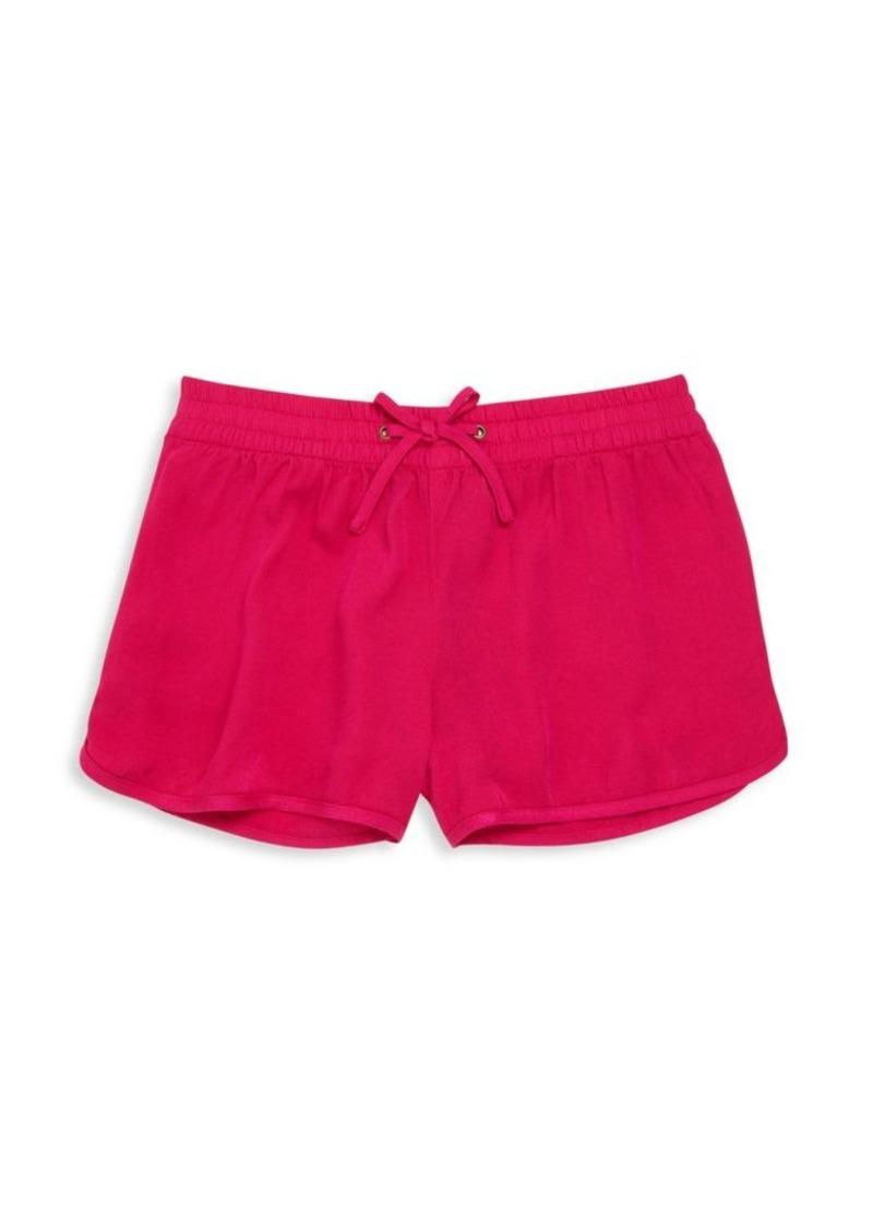 Ralph Lauren Girl's Solid Track Shorts