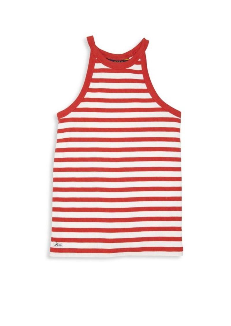 Ralph Lauren Girl's Striped Tank Top