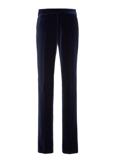 Ralph Lauren Greg Straight-Leg Velvet Pants