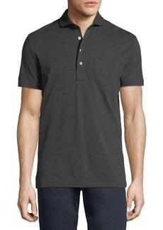 Ralph Lauren Heathered Pocket Polo Shirt