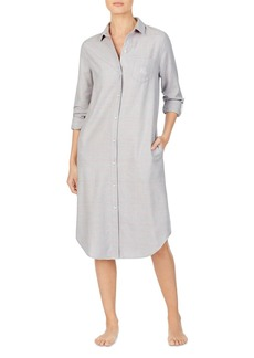 Ralph Lauren Herringbone Long Sleepshirt