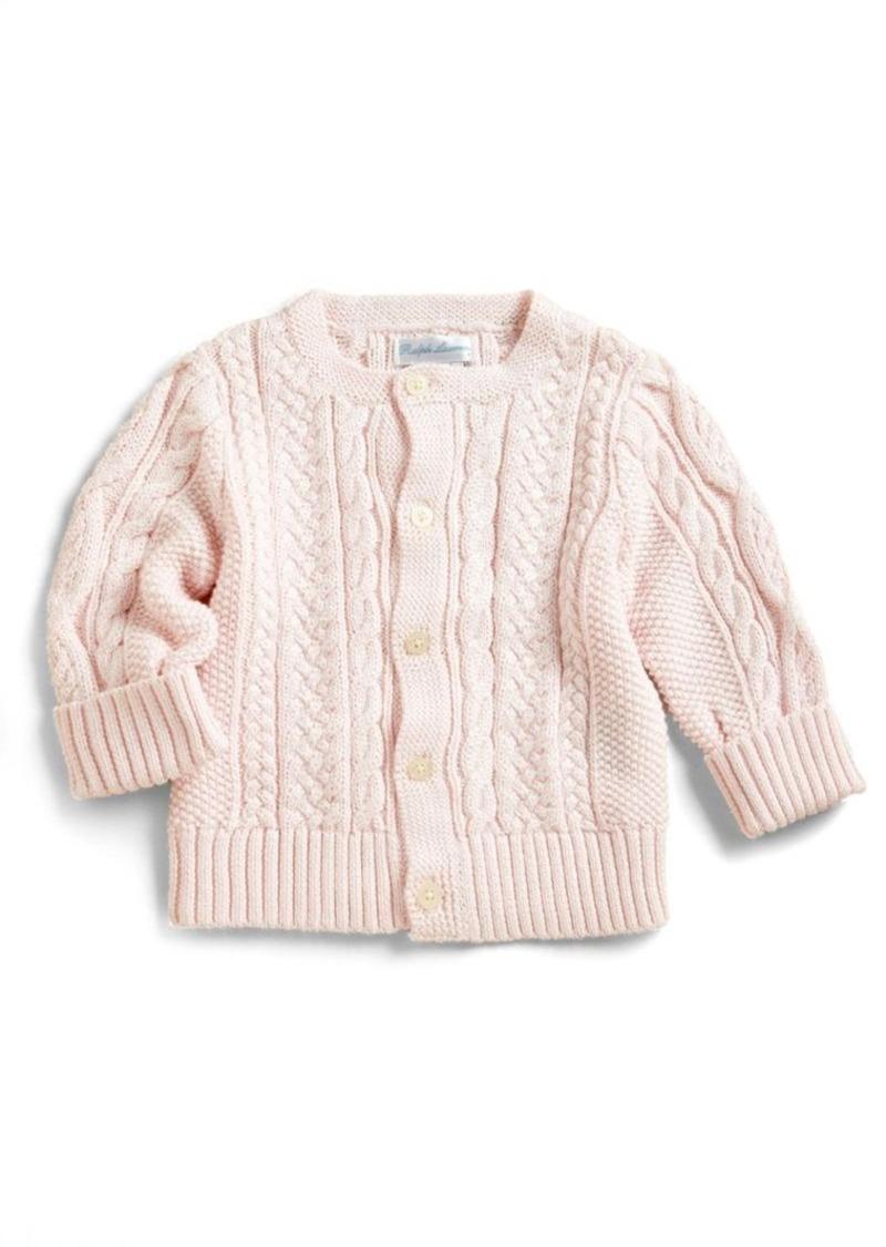 ee9e55961772 Ralph Lauren Ralph Lauren Baby s Mercerized Cotton Cardigan