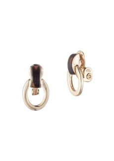 Ralph Lauren Link Clip-On Earrings