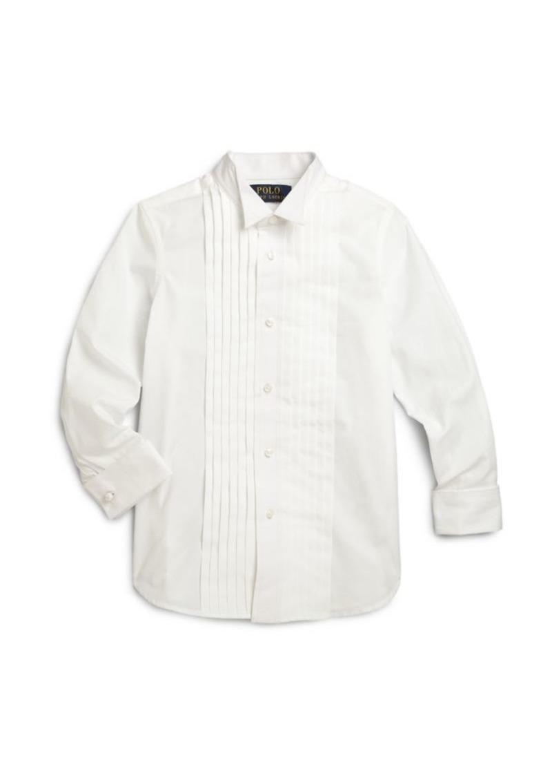 Ralph Lauren Little Boy's Tuxedo Shirt