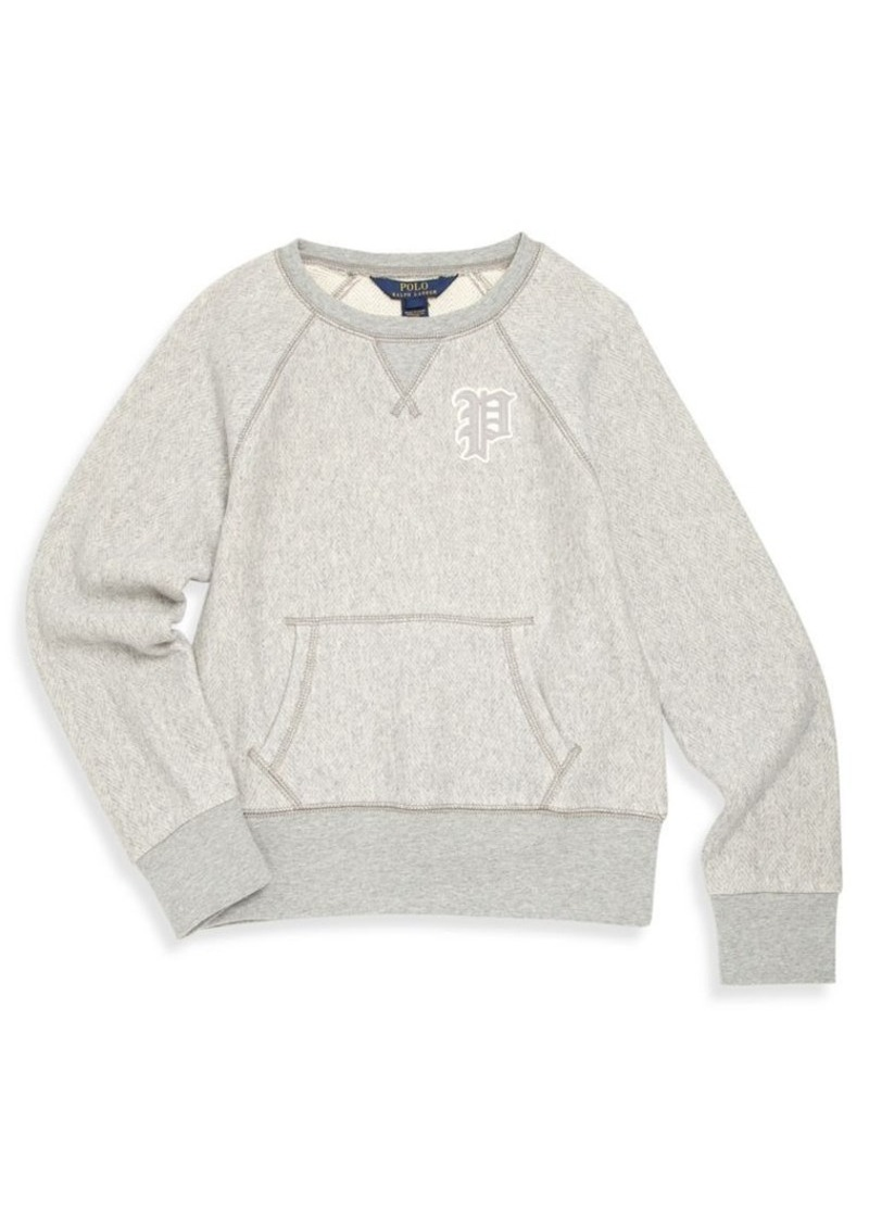 Ralph Lauren Little Girl's & Girl's Cotton Long Sleeve Pullover