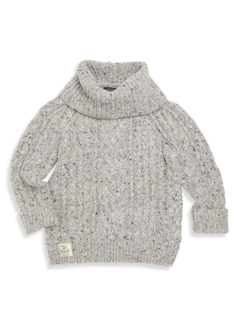 Ralph Lauren Ralph Lauren Little Girl's Cable-Knit Turtleneck ...