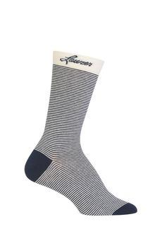Ralph Lauren Logo Striped Crew Socks