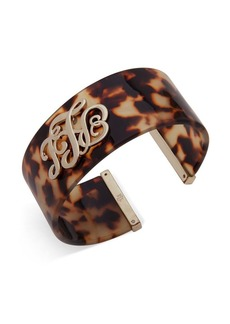 Ralph Lauren Logo Wide Cuff Bracelet