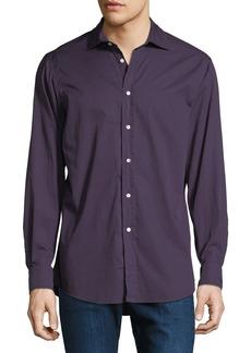 Ralph Lauren Men's Garment-Dyed Twill Dress Shirt