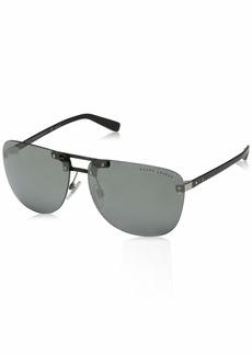 Ralph Lauren Men's RL7062 Metal Square Sunglasses