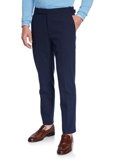 Ralph Lauren Men's RLX Gregory Flat-Front Pants  Navy