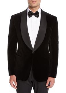 Ralph Lauren Men's Shawl-Collar Velvet Tuxedo Jacket