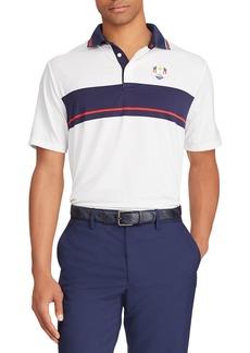 Ralph Lauren Men's Tuesday USA Ryder Cup French-Knit Golf Polo Shirt