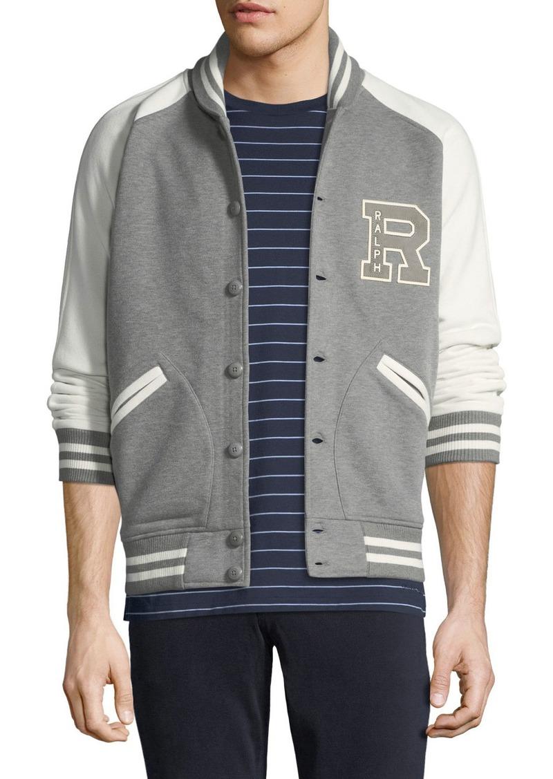 Ralph Lauren Ralph Lauren Men's Two-Tone Varsity Jacket Now $340 00