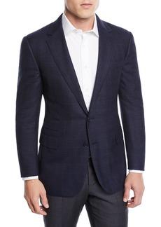 Ralph Lauren Men's Two-Tone Wool-Blend Sport Coat