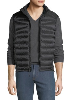 Ralph Lauren Men's Zip-Front Down Puffer Vest  Black