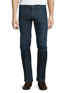 Ralph Lauren Piston Stretch Moto Jeans