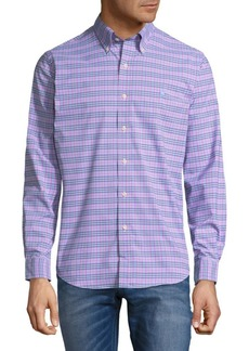 Ralph Lauren Plaid Button-Down Shirt