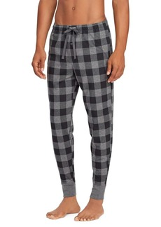 Ralph Lauren Plaid Cotton Jersey Joggers