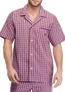 Ralph Lauren Plaid Cotton Pajama Shirt