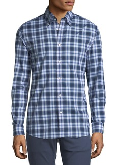 Ralph Lauren Plaid Cotton Sport Shirt