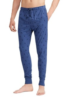 Ralph Lauren Pony-Print Cotton Joggers