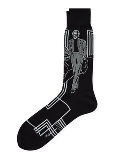 Ralph Lauren Portrait Socks