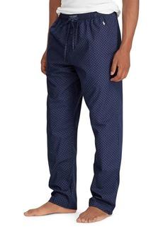 Ralph Lauren Printed Woven Cotton PJ Pants
