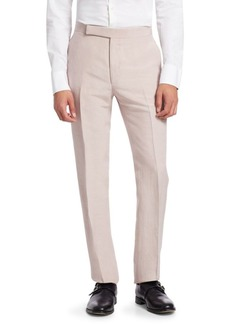 Ralph Lauren Anthony Silk Linen Slub Trousers