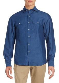 Ralph Lauren Aston Classic Fit Solid Button-Down Shirt