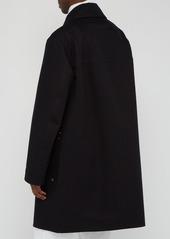 Ralph Lauren Purple Label Baker single-breasted cotton-twill overcoat