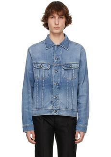 Ralph Lauren Purple Label Blue Denim Trucker Jacket
