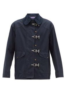 Ralph Lauren Purple Label Cotton fireman coat