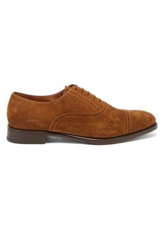 Ralph Lauren Purple Label Denver suede brogues