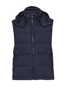 Ralph Lauren Purple Label Down-filled wool gilet