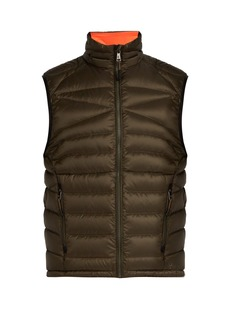 Ralph Lauren Purple Label Global Explorer quilted shell gilet