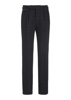 Ralph Lauren Purple Label Gregory Plaid Pant