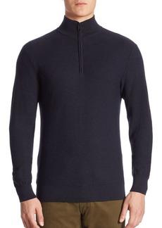 Ralph Lauren Half-Zip Wool & Cashmere Pullover