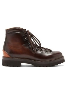 Ralph Lauren Purple Label Hand-burnished leather boots