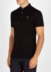 Ralph Lauren Purple Label Logo-embroidered cotton-piqué polo shirt