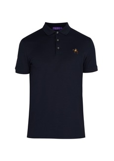 Ralph Lauren Purple Label Logo-embroidered cotton polo shirt