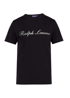 Ralph Lauren Purple Label Logo-print cotton-jersey T-shirt