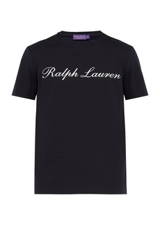 Ralph Lauren Purple Label Logo-print cotton T-shirt